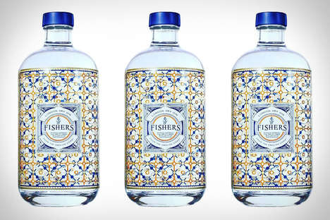 Herbaceous Dry Gins - Fischer's Dry London Gin Has a Dynamic Aroma and Compelling Flavor Profile