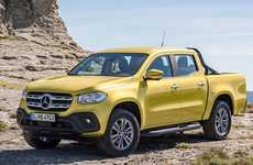 Rugged Luxury Truck Debuts - The 2018 Mercedes-Benz X-Class is the Brand's First Mid-size Pickup