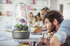 Rotating Cylinder Aquariums - The 'Tau' Fish Tank Aquarium Offers Relaxation Benefits