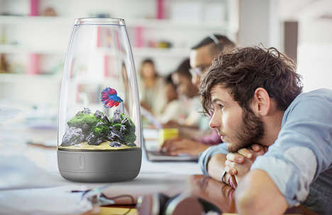 Rotating Cylinder Aquariums