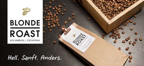 Fruity Blonde Roast Coffees - Tchibo is Now Offering a Blonde Roast as a Lighter Coffee Option