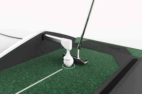Intelligent Golf Training Equipment - The Tyche T1 Golf Training Tool Alternates Between Lessons