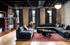 High Design Hostels - 'Native Hostel' in Austin Was Designed to Normalize Hostel Culture in the US