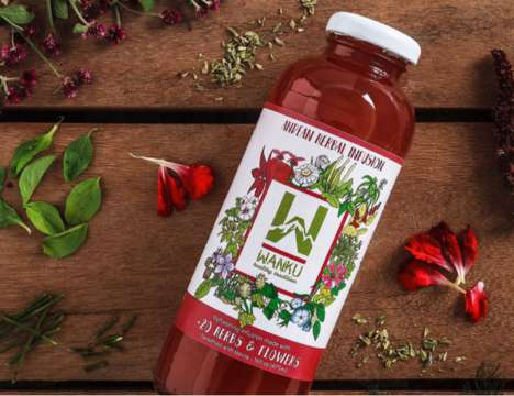 Healing Herbal Tonics - WanKu's Blend of 20 Herbs is Known as the Andes Mountains Healing Water