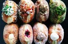 Hybridized Breakfast Bagels - The 'Bagel Doughnut' Adds a Savory Twist to the Portuguese Malasada