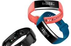 Telecom Brand Fitness Trackers - The Huawei Band 2 and Band 2 Pro Track Sleep, Training and More