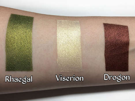 Fantasy Show-Themed Eyeshadows - Strobe Cosmetics is Offering Eyeshadows Inspired by Game of Thrones