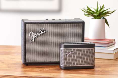 Amp-Inspired Bluetooth Speakers - The Fender Monterey Looks Like a Classic Guitar Amp