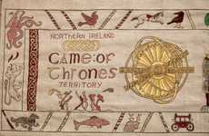 Fantasy Tourism Tapestries - Tourism Ireland Created a 250-Foot Tapestry Reviewing Game of Thrones