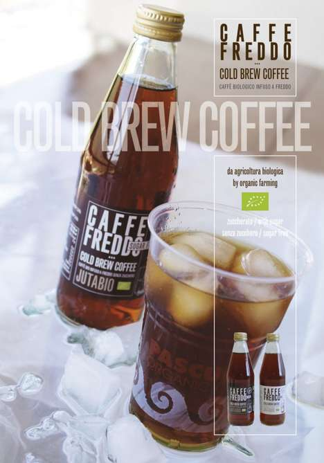 Low-Caffeine Cold Brews - Caffè Pascucci's Jutabio Cold Brew is Boasts a Low Caffeine Content