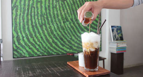 Iced coffee continues to ascend to gourmet status through a focus on texture
