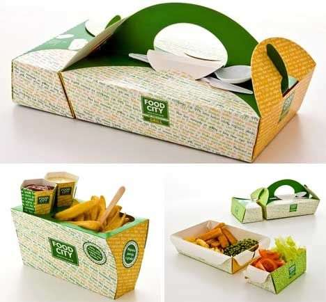 Modular Takeaway Containers - This Adaptive Container Features Clip-In Attachments as Dividers