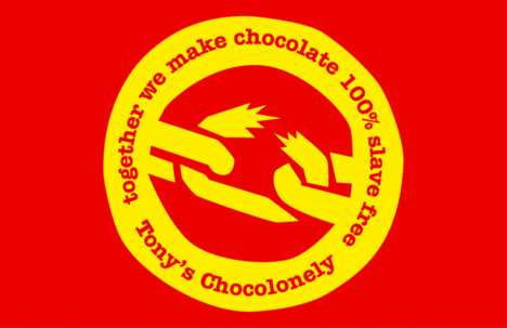 "Ethical Chocolate Brands - Tony's Chocolonely Produces ""100% Slave-Free"" Confections"