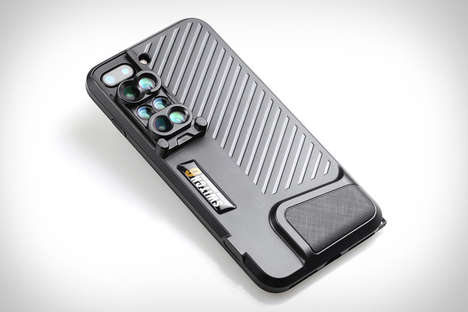 Multi-Lens Smartphone Cases - The Ztylus Switch 6 iPhone Lens System Enables Crisp Photography