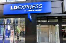 Ultra-Condensed Pharmacy Shops - London Drugs is Opening a Small Store Called 'LDExpress'