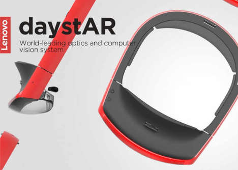 Omni-Industry AR Headsets - The Lenovo DaystAR Augmented Reality Headset is Multifunctional