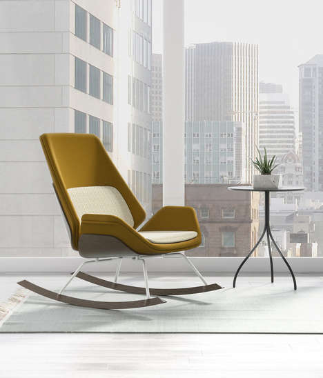 Contemporary Rocking Chairs - Scott Wilson's 'Fulton Rocker' Re-Imagines the Classic Design