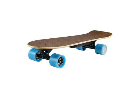 Bluetooth Electric Skateboards - Huger Tech's New Skateboard Offerings Let You Track Your Rides