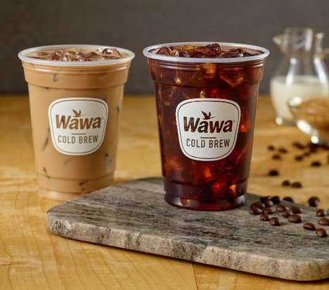 Coffee Shop Cold Brews - Wawa Has Added Cold Brew to Its Hand-Crafted Specialty Beverage Menu