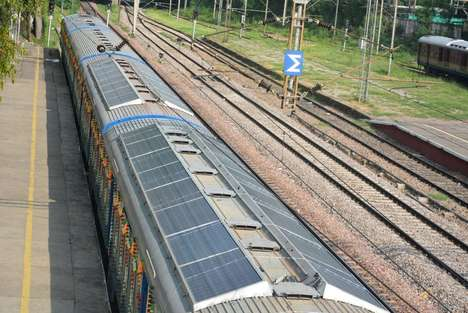 Solar Panel-Sheathed Trains - This Eco-Friendly Train Was Introduced By Indian Railways