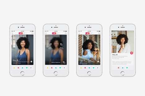 Efficiency-Focused Dating App Updates - This New Tinder Update Will Showcase Images More Prominently