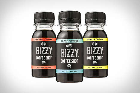 Cold Brew Coffee Shots - Bizzy Coffee Shots Deliver a Burst of Energy Without the Addititves