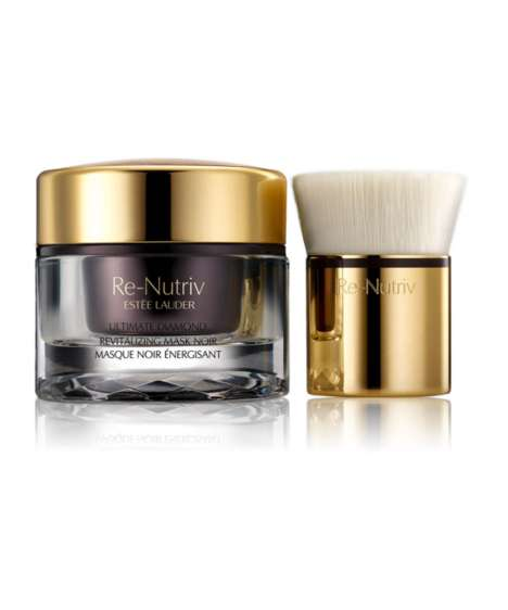 Truffle-Infused Mud Masks - Estee Lauder's Re-Nutriv Ultimate Diamond Mask is Clarifying & Luxurious