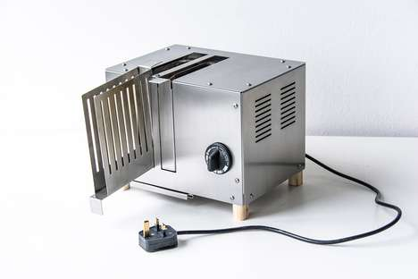 Repairable Flat-Pack Toasters - The Repairable Flatpack Toaster Reduces Electrical Waste