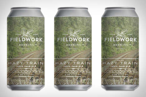 Hazy IPA Beers - Fieldwork Brewing's Hazy Train India Pale Ale Has Less Bite Than Other IPAs