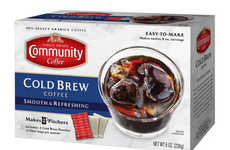 At-Home Cold Brew Coffee Sachets - Community Coffee's Easy-to-Make Cold Brew is Packaged in Pouches
