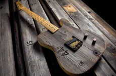 Stadium Bench Board Guitars