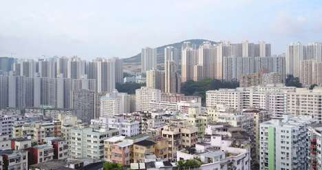 Metropolitan Drone Films - Mariana Bisti's Drone Film Captures the Architecture of Hong Kong