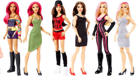 Professional Wrestler Dolls