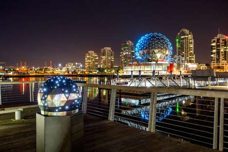 Interactive Light-Up Installations - The 'OH!' Orb at Science World Can be Customized by Passersby