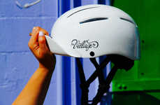 Accessorized Cycling Helmets