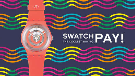 Contactless Payment Watches - 'Swatch Pay' Lets Users Complete Transactions at Contactless Terminals