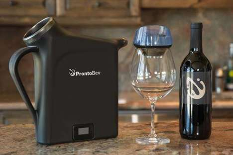 Libation-Chilling Containers - The 'ProntoBev' Can Chill Beverages in 30 Seconds Flat