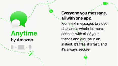 eCommerce Messaging Apps - Amazon Anytime Offers Voice and Video Calling, Plus Filters and More