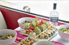 Sushi-Themed Gin Tastings - Hayman's and B Bakery are Teaming Up to Offer Sushi and Gin Bus Tours