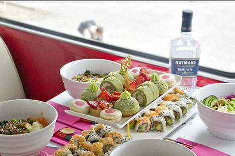 Sushi-Themed Gin Tastings