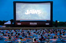 Floating Aquatic Movie Screenings