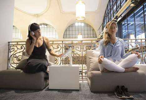 In-Store Meditation Spaces - Lululemon Opened an Area for 'Mindfulosophy' Within Its NYC Store