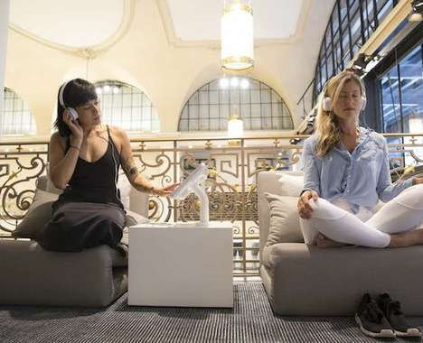 In-Store Meditation Spaces