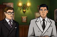 Crossover Spy Cartoons - 'Archer' and 'Kingsman: The Golden Circle' Appear Together in This Short