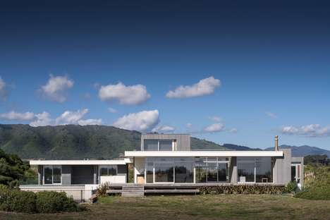 Isolated Modern Homes
