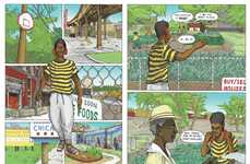 Urban Architectural Graphic Novels - 'No Small Plans' is About Urban Planning in Chicago