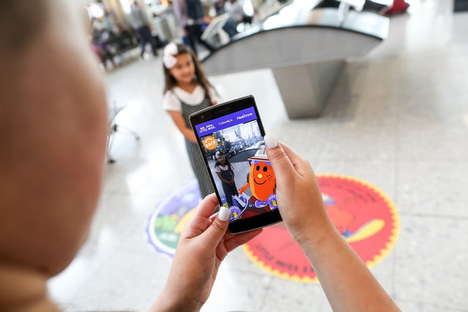 AR Travel Distractions - 'Around the World with Mr. Adventure' Keeps Kids Occupied During Layovers