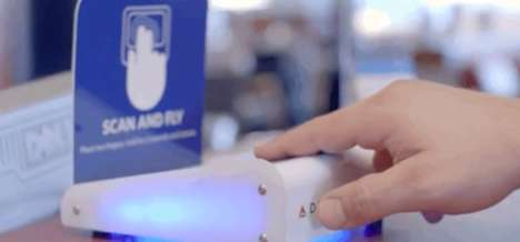 Biometric Boarding Pass Replacements - Delta is Replacing Boarding Passes with Fingerprint Scans