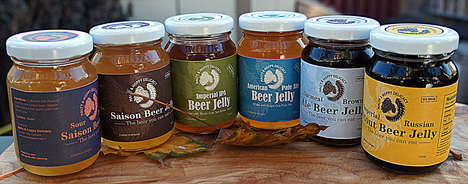 Gourmet Beer Jellies - 'Malty And Hoppy Delicacy' Jams are Infused with Local Beer