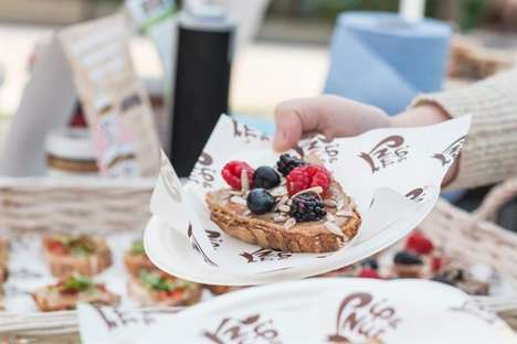 Snack-Sampling Picnics - Nut Butter Brand Pip & Nut's 'Pipnic' Pop-Up Shares All-Day Snack Ideas